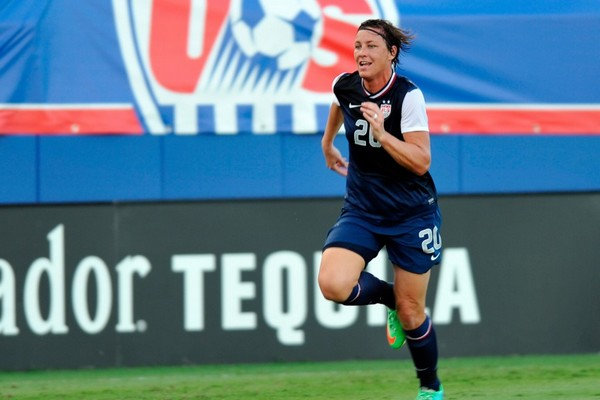 Best Female Soccer Players Abby Wambach