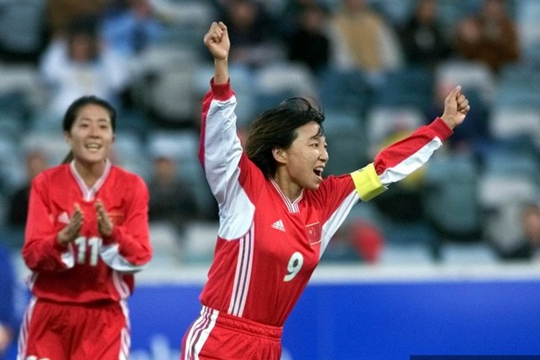 Sun Wen best female soccer players