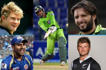 Maximum Sixes in an Innings – Top 15 Batsmen