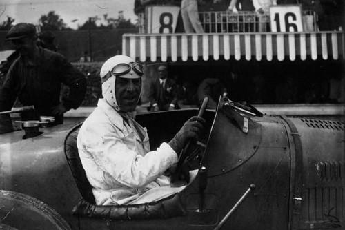 Marcel Lehoux at Monza in 1930