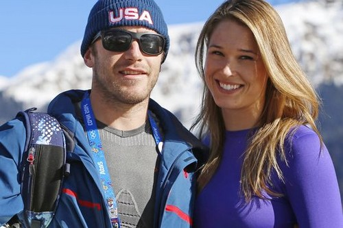 Morgan Beck and Bode Miller