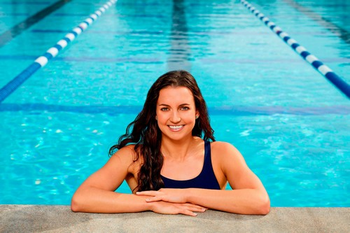 famous woman swimmers nude