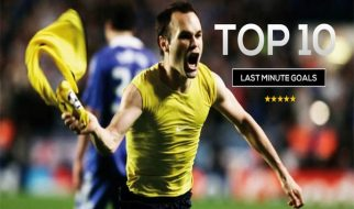 Top 10 Last Minute Goals in Football History