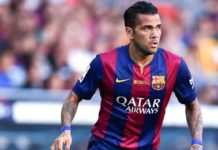 Moments of Dani Alves at Barcelona